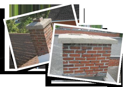 Joints de mortier dégradés ou fissurés