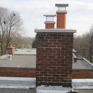 Chapeau de cheminée en acier inoxydable